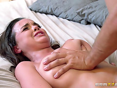 Brunette With Hot Ass And Natural Tits Gets Hardcore Sex