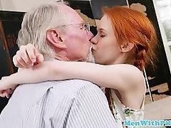 Young cocksucking amateur sucks seniors dick