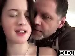 Old on young porn
